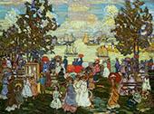Salem Willows 1904 - Maurice Prendergast