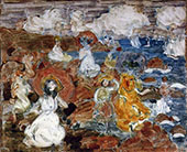 Summer Day c1900 - Maurice Prendergast reproduction oil painting