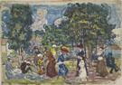Sunday Promenade c1915 - Maurice Prendergast