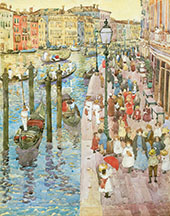 The Grand Canal Venice c1898 - Maurice Prendergast