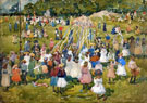 May Day Central Park 1901 - Maurice Prendergast
