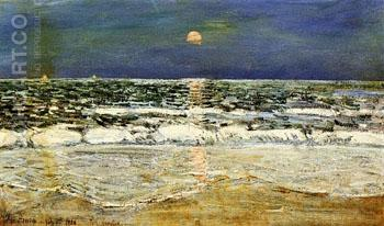 East Hampton - Childe Hassam reproduction oil painting