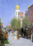 A Spring Morning - Childe Hassam