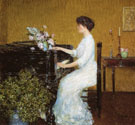 At The Piano - Childe Hassam