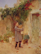 Boy with Flower Pots 1888 - Childe Hassam