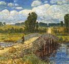 Bridge at Old Lyme - Childe Hassam