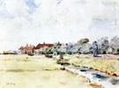 Canal Scene 1883 - Childe Hassam