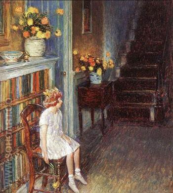 Clarissa 1912 - Childe Hassam reproduction oil painting
