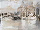 Columbian Exposition Chicago - Childe Hassam reproduction oil painting