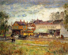 End of The Trolley Line Oak Park Illinois 1893 - Childe Hassam