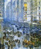 Fifth Avenue in Winter A 1919 - Childe Hassam