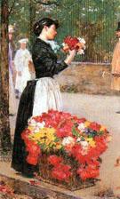 Flower Girl - Childe Hassam