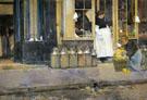 La Bouquetiere and La Latiere 1888 - Childe Hassam