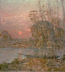 Late Afternoon Sunset 1903 - Childe Hassam