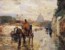 Le Val De Grace Spring Morning 1888 - Childe Hassam