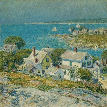 New England Headlands 1899 - Childe Hassam reproduction oil painting