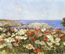 Poppies Isles of Shoals - Childe Hassam reproduction oil painting