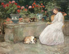 Reading 1888 - Childe Hassam reproduction oil painting