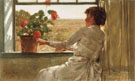 Summer Evening - Childe Hassam reproduction oil painting
