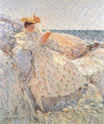 Summer Sunlight - Childe Hassam reproduction oil painting