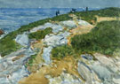 Sunday Morning Appledore 1912 - Childe Hassam reproduction oil painting