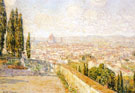 View of Florence From San Miniato - Childe Hassam