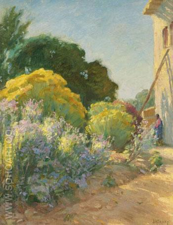 Taos Mexico - Joseph Henry Sharp reproduction oil painting