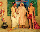 Three Taos Indians - Joseph Henry Sharp