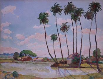 Waipuhu - Joseph Henry Sharp reproduction oil painting