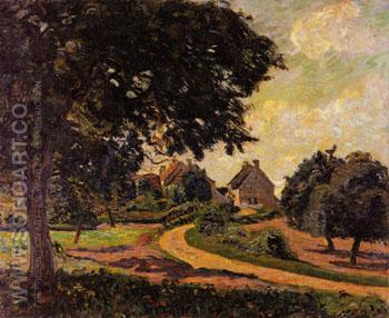 After the Rain 1887 - Armand Guillaumin reproduction oil painting