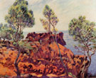 Agay Red Rocks - Armand Guillaumin