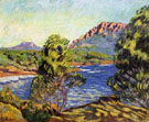 Agay the Bay During The Mistral - Armand Guillaumin