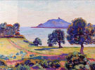 Agay the Chateau and The Signal Tower 1894 - Armand Guillaumin