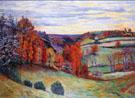 Barnyard Crozant 1895 - Armand Guillaumin reproduction oil painting