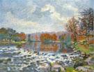 Barrage de Genetin Crozant 1898 - Armand Guillaumin reproduction oil painting