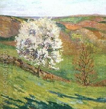 Blossom - Armand Guillaumin reproduction oil painting