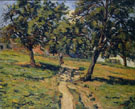 Chemin a Damiette - Armand Guillaumin reproduction oil painting