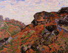 Creuse Landscape - Armand Guillaumin reproduction oil painting