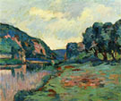 Echo Rock A - Armand Guillaumin reproduction oil painting