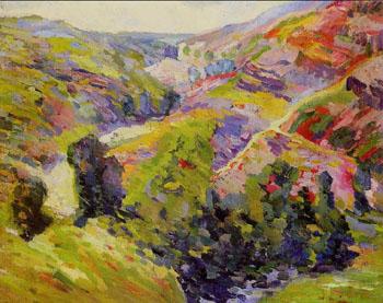 Environs de Crozant - Armand Guillaumin reproduction oil painting