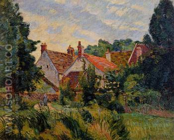 Epinay sur Orge 1884 - Armand Guillaumin reproduction oil painting