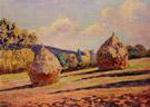 Grainstacks - Armand Guillaumin