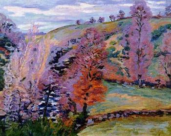 Grey Weather - Armand Guillaumin reproduction oil painting