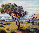Gust of Wind le Brusc - Armand Guillaumin reproduction oil painting