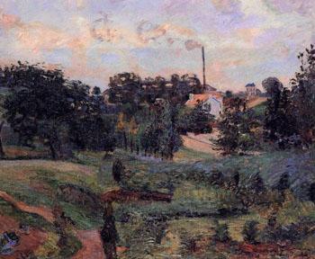 Ile de France A - Armand Guillaumin reproduction oil painting