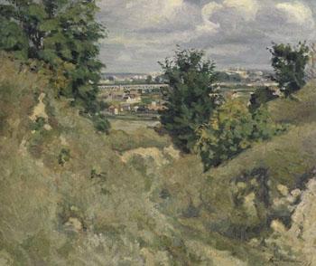 Issy Les Moulineaux Vallee des Environs de Paris - Armand Guillaumin reproduction oil painting