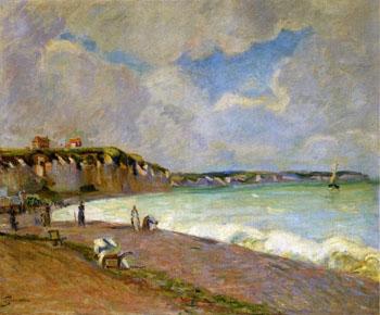 La Manche Landscape - Armand Guillaumin reproduction oil painting