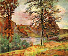 Landscape 1870 - Armand Guillaumin reproduction oil painting