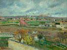 Landscape Ile de France Front - Armand Guillaumin reproduction oil painting