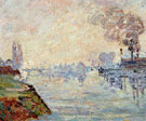 Landscape in the Vicinity of Rouen - Armand Guillaumin